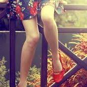 røde sko